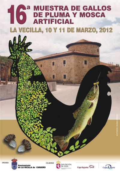 CARTEL GALLOS DE PLUMA Y MOSCA 2012 (2)