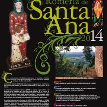 Cartel-Romería-de-Santa-Ana-2014