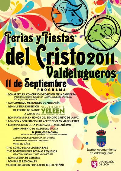 Feria del Cristo de Lugueros 2011