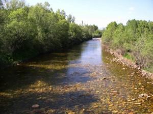 Rio Curueño en Pardesivil