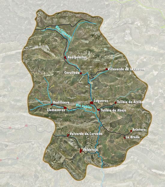 mapa-pueblos-La Vecilla